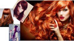 Kızıl Saç Rengi Tonları Kataloğu