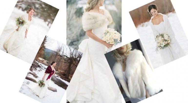 Kışın Gelinlik Üzerine Ne Giyilir? (Şal-Bolero-Kürk)