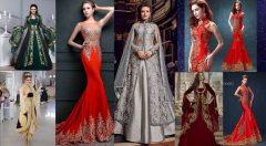 2021 Kına Gecesi Elbiseleri (abiye ve bindallı)
