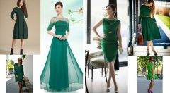 Yeşil Elbise Kombinleri En Şık Haliyle