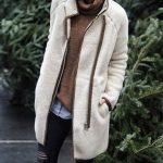 Yırtık pantolon kış kombinleri