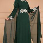 Yeşil abiye elbiseye ne renk şal