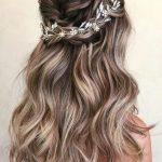 Açık saç modelleri düğün