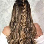 Açık saç modeli helen örgü