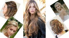 Açık Saç Modelleri-Günlük-Abiye