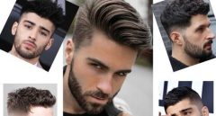 Dalgalı Saç Modelleri Erkek Stilleri-Yeni Sezon