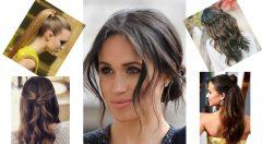 Pratik Kolay Saç modelleri Ve Yapılışları