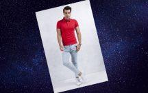 Açık Mavi Kot Pantolon Kombinleri Erkek