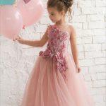 Abiye elbise modelleri çocuk