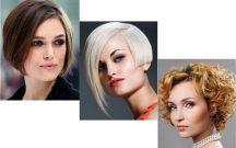 Yuvarlak Yüze Kısa Saç Modelleri Kadın