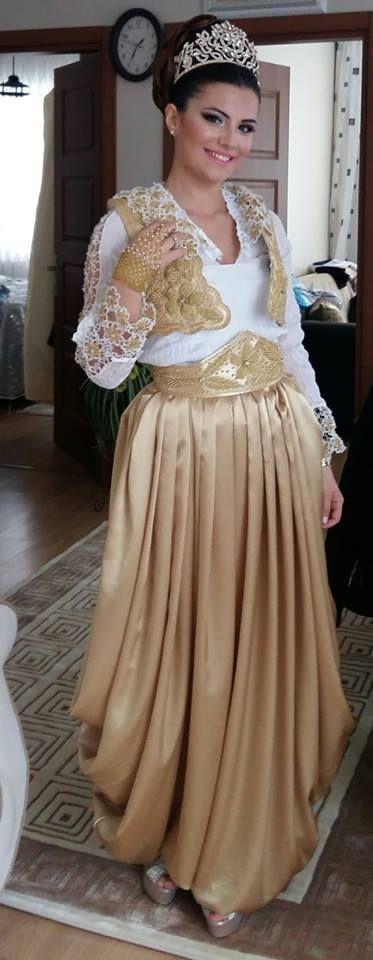 arnavut kına kıyafeti