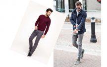 Gri Kot Pantolonun Üstüne Hangi Renk Gider Erkek