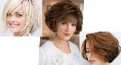 Kısa Katlı Saç Modelleri 2022-2023