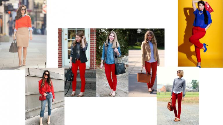 Kırmızı İle Uyumlu Renkler Hangileridir?