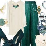 Zümrüt yeşile uyan renkler,
