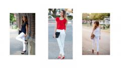 Beyaz Pantolon Altına Ne Renk Ayakkabı Giyilir Bayan