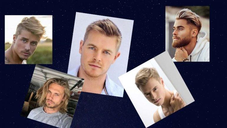 Erkek Sarı Saç Modelleri Ve Kesimleri