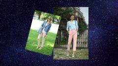 Somon Rengi Pantolon Kombinleri