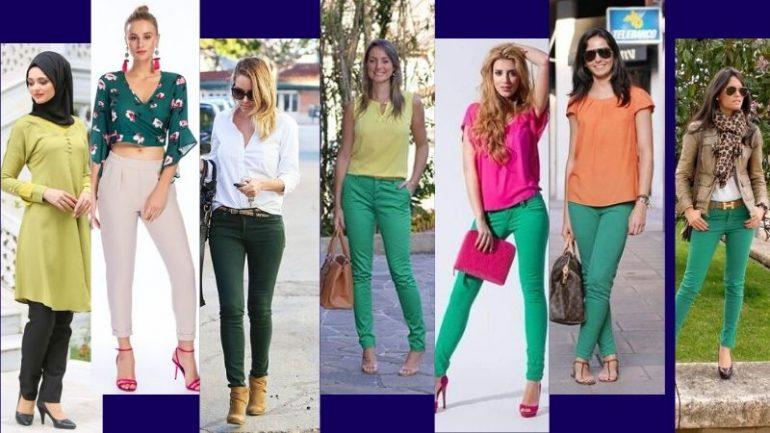 Yeşille Uyumlu Renkler Ve Yeşil Kombinler