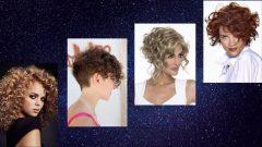 Kıvırcık Kısa Saç Modelleri Kadın