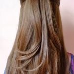 Uzun saç günlük toplama modelleri