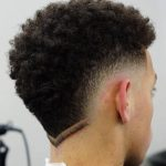 erkek saç ense modelleri kıvırcık saç