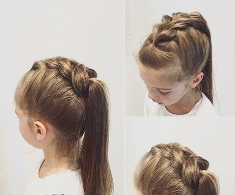 güzel kolay saç modelleri okul için