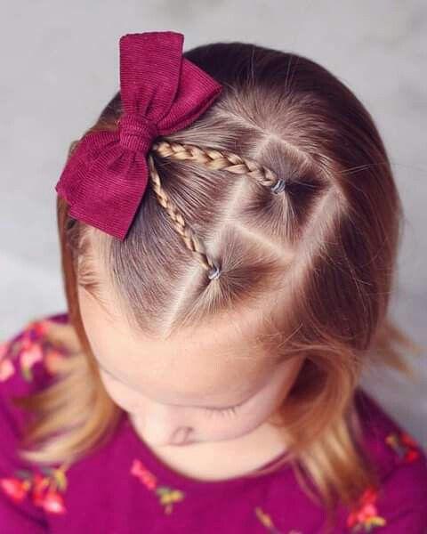 okul örgü saç modelleri