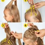 okula giderken yapılabilecek saç modelleri ve yapılışları