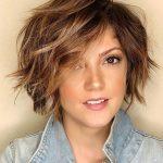 Kısa saç modeli kadın