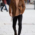 erkek siyah pantolon kombinleri kış