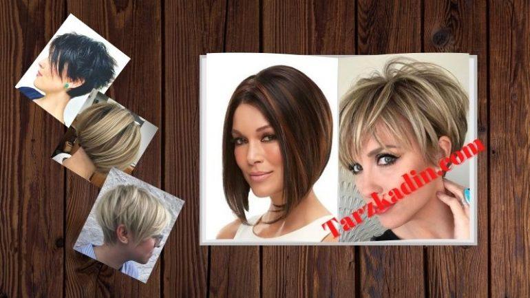 Kısa Düz Saç Modelleri Kadın (Yeni Sezon Görülmeye Değer)