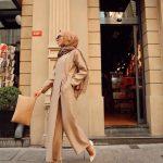 açık kahverengi elbise
