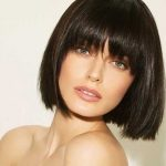 düz saçlar için kısa saç modelleri