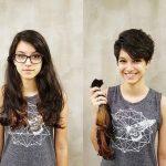 evde düz kesim saç nasıl kesilir