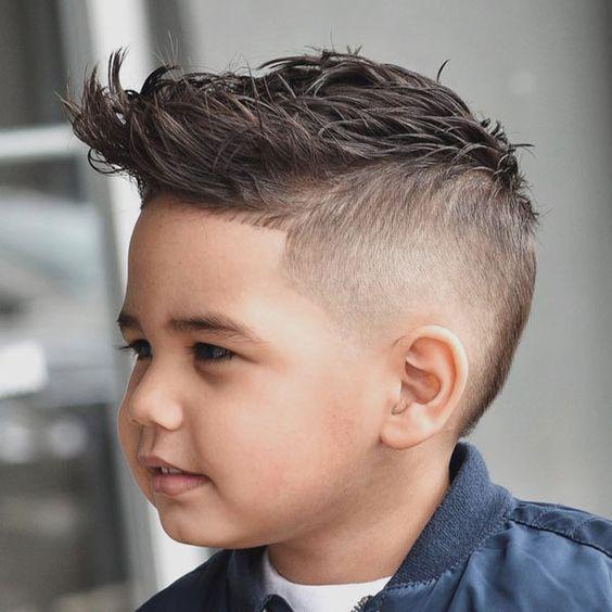 Erkek çocuk kısa saç kesimi modelleri