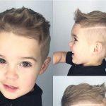 Erkek çocuk saça çizik atma