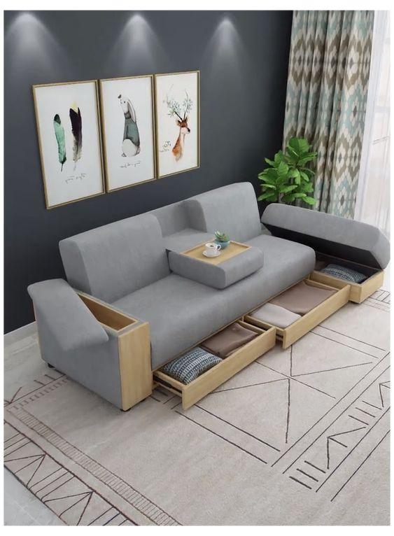 Fonksiyonlu koltuk takımları oturma odası