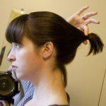 Kahkülü kısa saç toplama modelleri