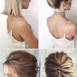 Kısa saçı toplama modelleri