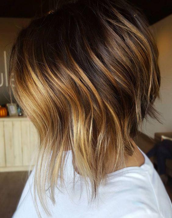 Röfleli saç modelleri