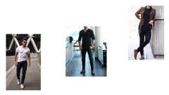 Siyah Pantolon Kombinleri Erkek
