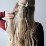 Uzun saç günlük model