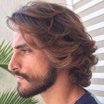 Uzun saç kesimleri erkek saç
