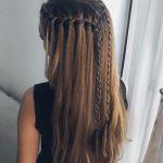 Uzun saça örgü modelleri