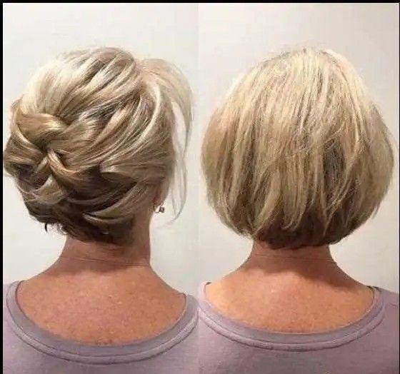 kolay saç toplama modelleri kısa