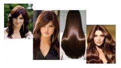 Koyu Kestane Saç Rengi Kataloğu