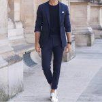 lacivert ceket kumaş pantolon kombinleri erkek