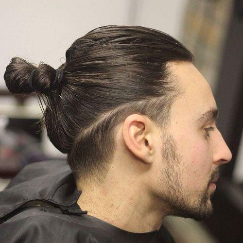 Erkek saç toplama modelleri