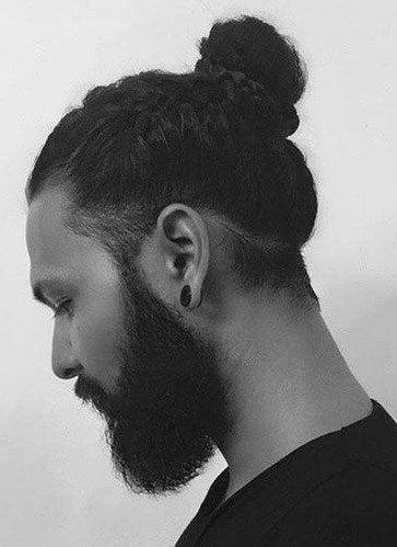 Erkek uzun saç toplama modelleri